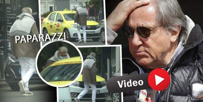 Ilie Năstase, refuzat de un taximetrist în plină stradă! Fostul tenismen, pus într-o situație jenantă, chiar după ce a ieșit dintr-o clinică medicală / PAPARAZZI