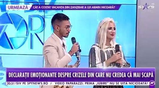 Claudia Puican și Armin Nicoară, interviu la Antena Stars