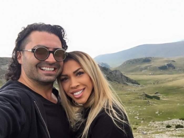 Pepe și Raluca în perioada în care formau un cuplu, în vacanță.