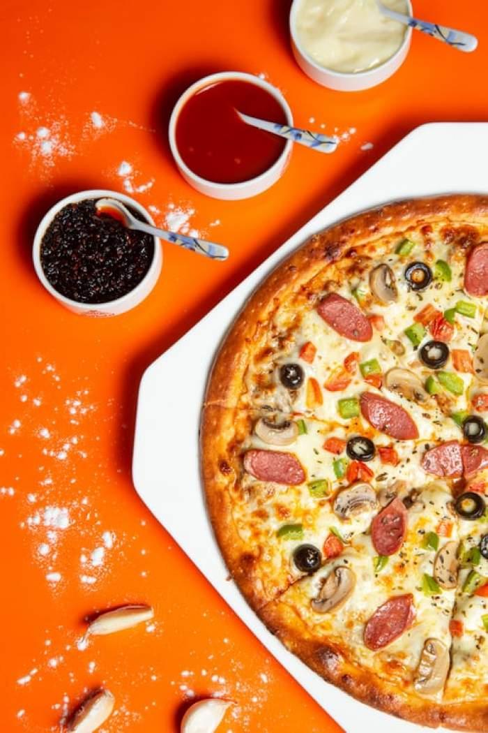 pizza făcută în casă