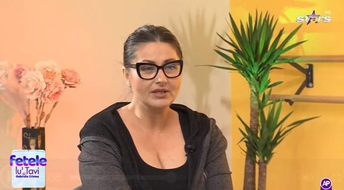 Gabriela Cristea la emisiune