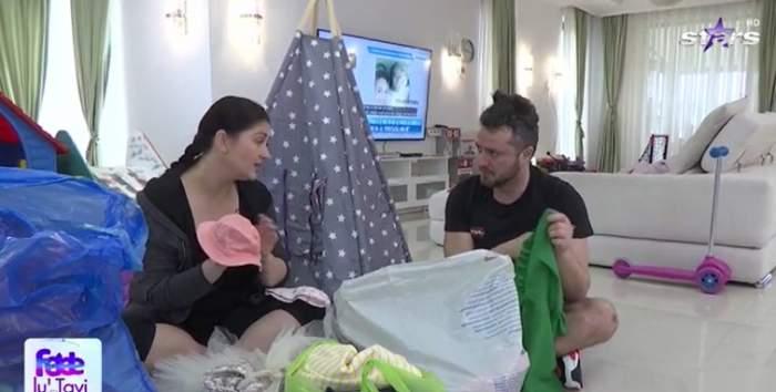Gabriela Cristea donează hainele pe care nu le mai poartă fetițele ei. Cum procedează vedeta Antena Stars