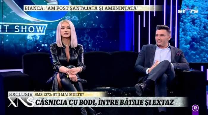 """Biancăi Drăgușanu îi este frică de Alex Bodi! Blondina vrea să ceară ordin de restricție împotriva lui? """"Mi-a fost teamă că va intra peste mine"""""""