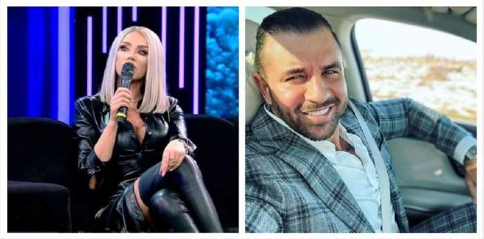 Un colaj cu Bianca Drăgușanu și Alex Bodi.
