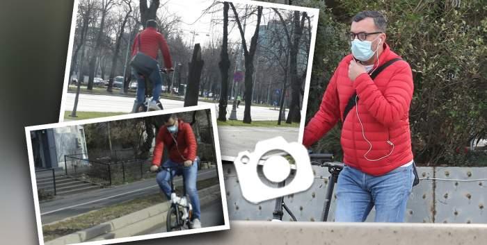 Giovanni Francesco ține la siluetă! Cum a fentat fostul iubit al Ioanei Băsescu traficul din Capitală, dar și kilogramele în plus / PAPARAZZI