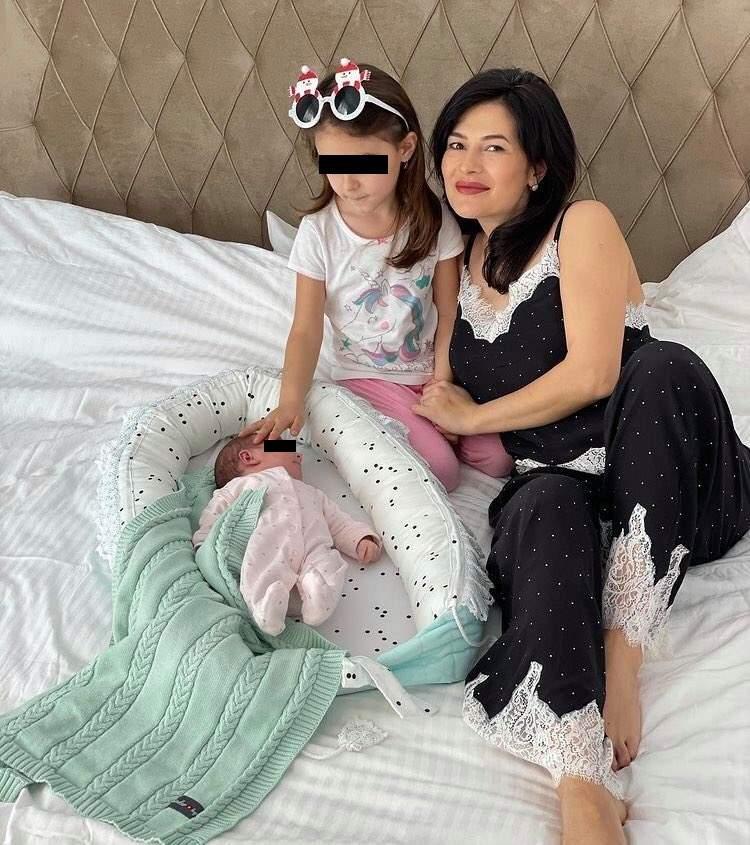 lguța Berbec, imagini de colecție cu fiicele ei