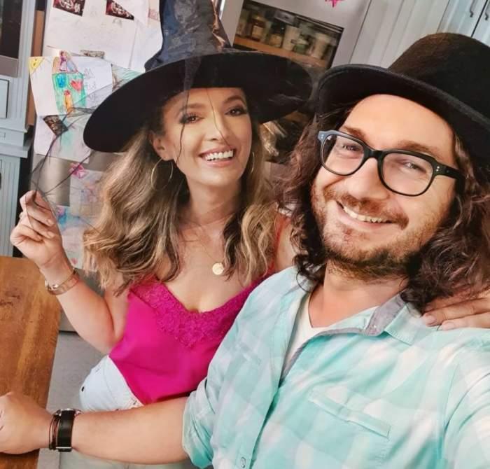 """Ce mesaj emoționant i-a transmis Florin Dumitrescu soției sale de Ziua Îndrăgostiților: """"Fericire, iubire și de toate"""""""