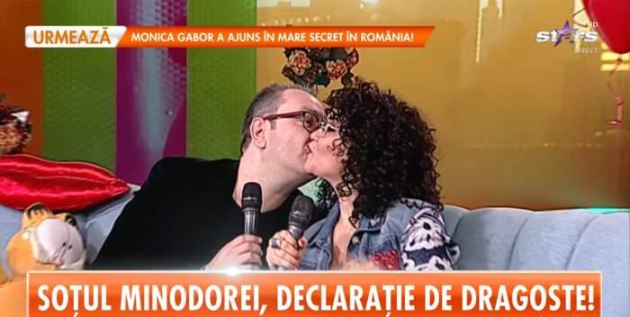 Minodora și soțul ei au spus care este secretul unei căsnicii fericite