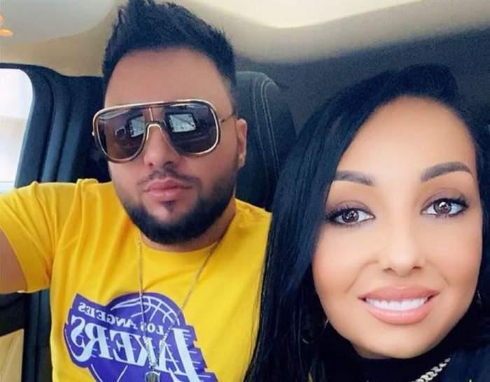 Narcisa Moisa și Yoannes într-un selfie. El poartă un tricou galben, iar ea zâmbește.
