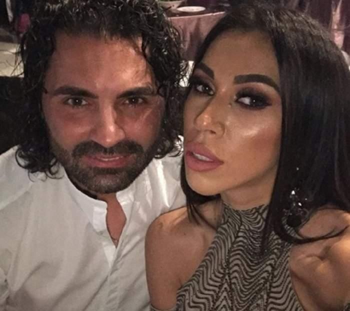 Pepe și Raluca în perioada în care formau un cuplu.