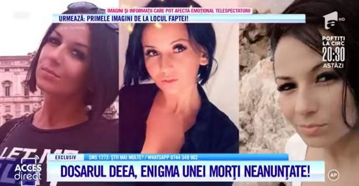 Acces Direct. Moarte suspectă a unei tinere de 32 de ani! A fost Deea ucisă, cum spune familia, sau s-a sinucis? / VIDEO