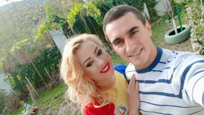 Larisa și Marian Drăgulescu, zâmbitori împreună
