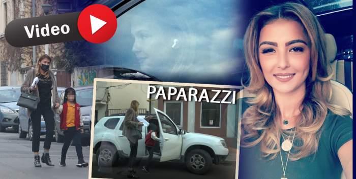 Cum își împart custodia Sorina Docuz și fostul soț, Robert Negoiță. Imaginile spun totul despre relația celor doi / PAPARAZZI
