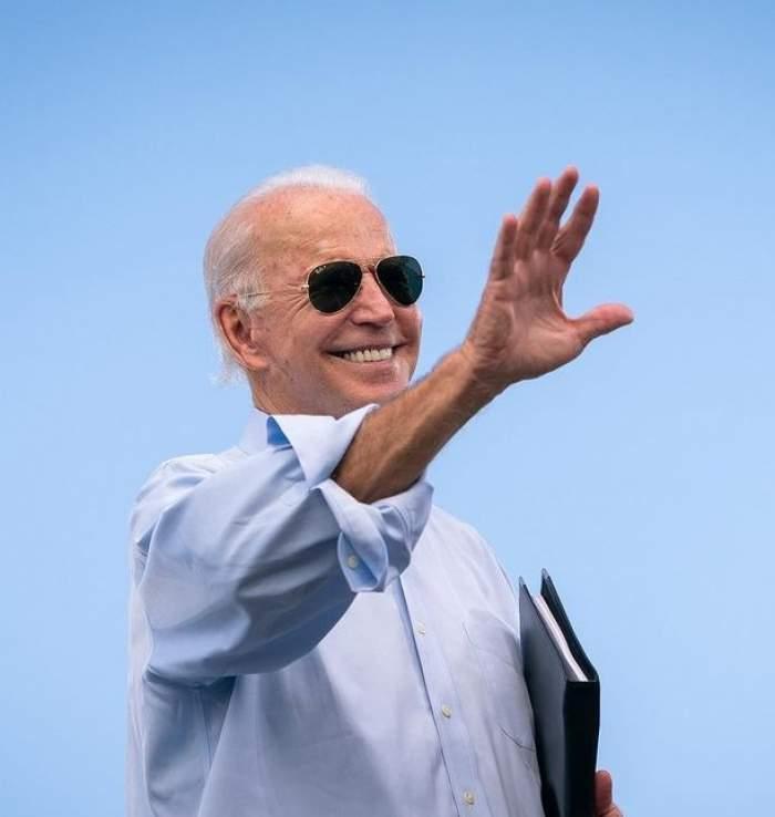 Președintele american Joe Biden în public