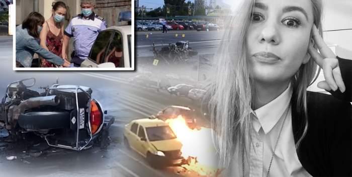 Angajata RA-APPS care a încercat să omoare un motociclist de la Circulație, scene lacrimogene, în public / Ce le-a cerut magistraților!