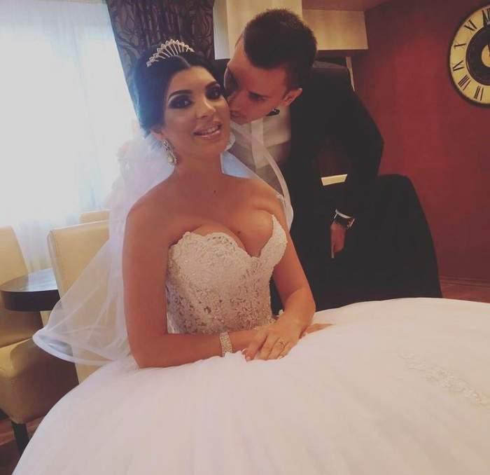 """Andreea Tonciu, fotografie emoționantă de la nuntă: """"Cea mai frumoasă zi din viața noastră""""/ FOTO"""