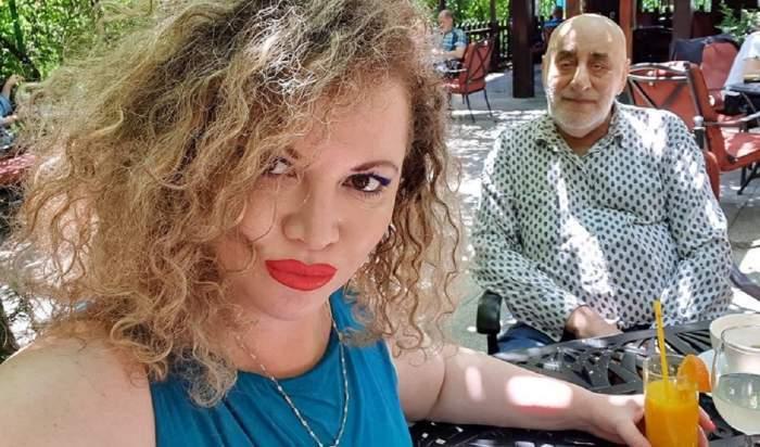 Viorel și Oana Lis la restaurant.