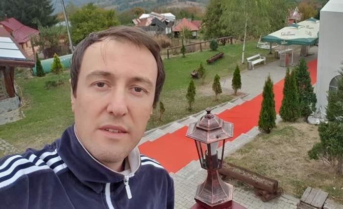 Călin Geambașu in vacanta in trening