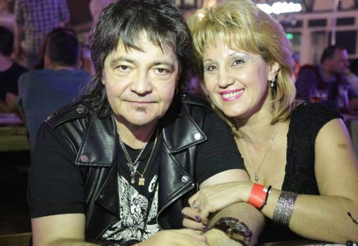 Paula Iorga alături de Leo Iorga, în perioada în care acesta trăia.