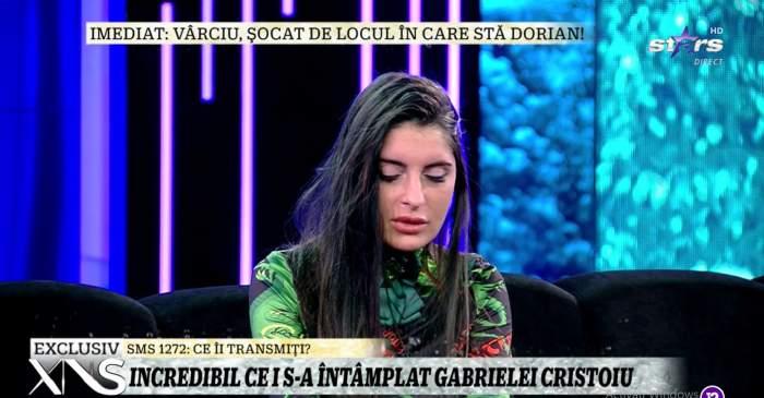 """Gabriela Cristoiu aruncă bomba, la Xtra Night Show! Vedeta face dezvăluiri cu lacrimi în ochi: """"Am un copil"""" / VIDEO"""