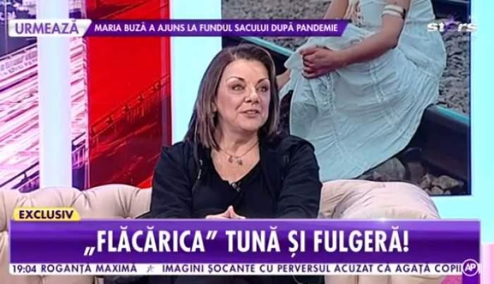 Carmen Tănas, îmbrăcată în negru la Antena Stars