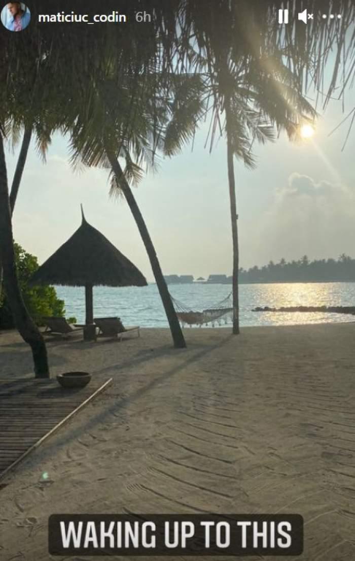 Codin Maticiuc, momente de vis în Maldive. Actorul este în vacanță cu familia / FOTO