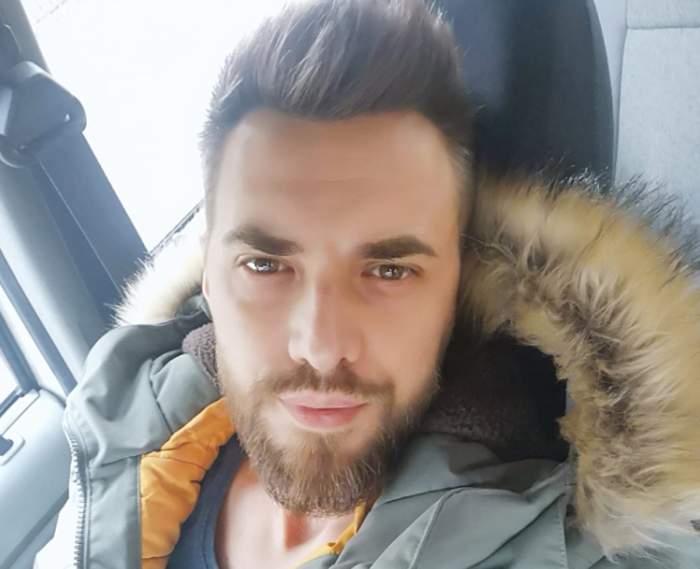 radu gorgan selfie in masina