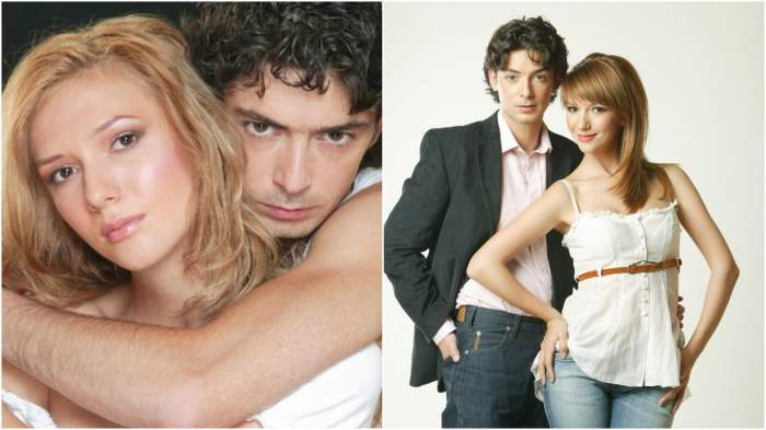 Colaj cu Dan Bordeianu și Adela Popescu în perioada în care formau un cuplu.