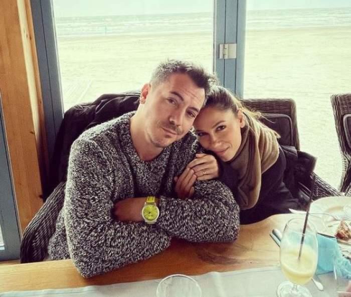 Răzvan și Irina Fodor la restaurant.