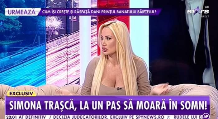 Simona Trașcă, la Showbiz Report