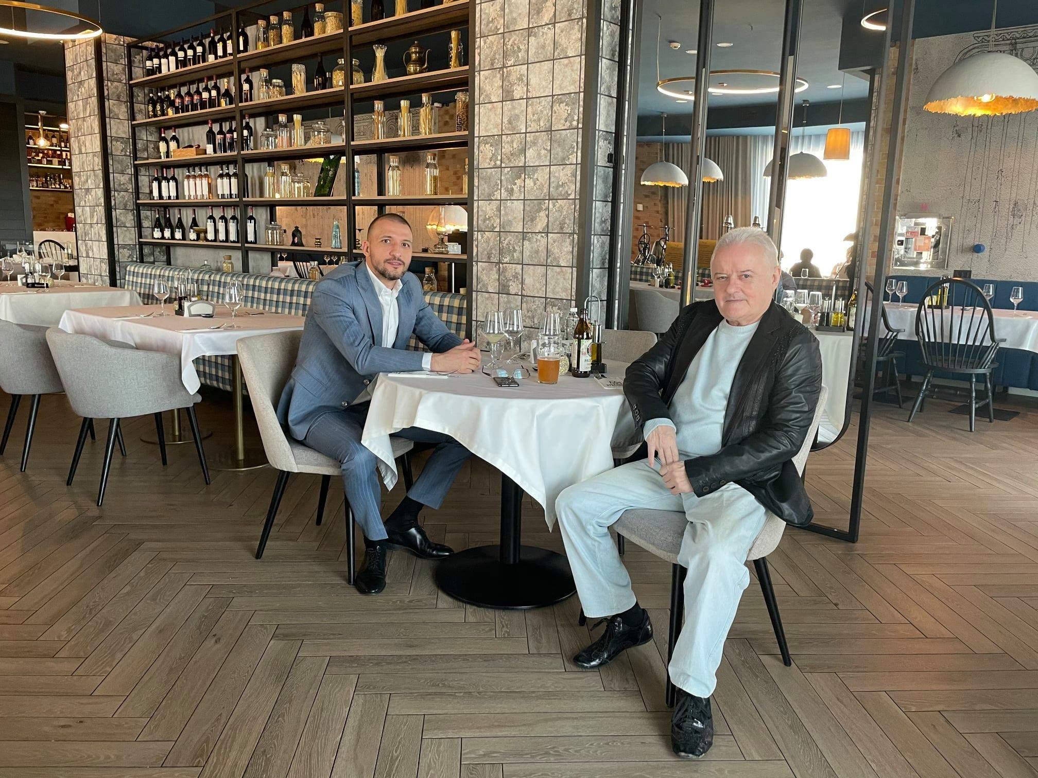 Irinel Columbeanu și Ștefan Mandachi
