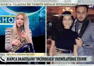 """Bianca Drăgușanu o face praf pe Claudia Pătrășcanu, în direct la Xtra Night Show! """"Minte cu nerușinare. Asta are mult timp liber"""" / VIDEO"""