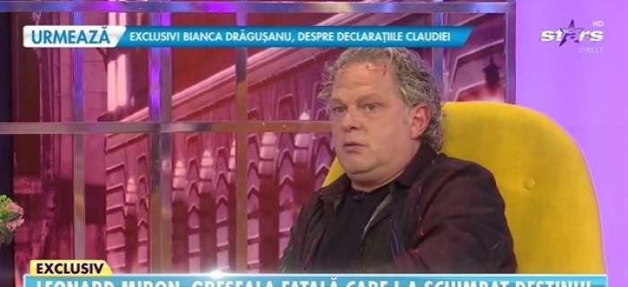 Leonard Miron la Antena Stars