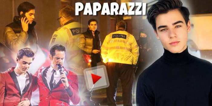 Radu Ștefan Bănică face orice pentru fani! Fiul marelui artist a pus munca pe primul loc, dar nu a scăpat de Poliție! Cum a fost surprins tânărul pe străzile Capitalei! / PAPARAZZI