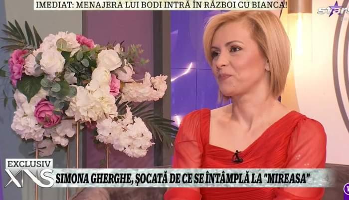 Simona Gherghe, dezvăluiri la Xtra Night Show despre viața de familie! Cum se înțelege prezentatoarea cu soțul său / VIDEO