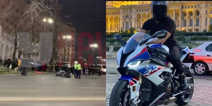 accident bucuresti motociclist
