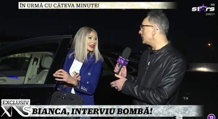 bianca dragusanu la masina interviu