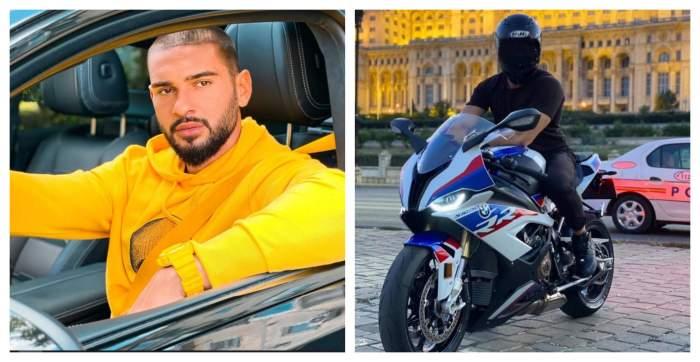 """Dorian Popa, sfâșiat de durere după moartea polițistului motociclist, în accidentul din fața Palatului Parlamentului: """"Ești cu mine aici"""" / VIDEO"""