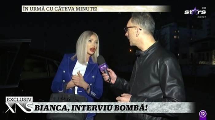 bianca dragusanu langa masina interviu antena stars plecare in america