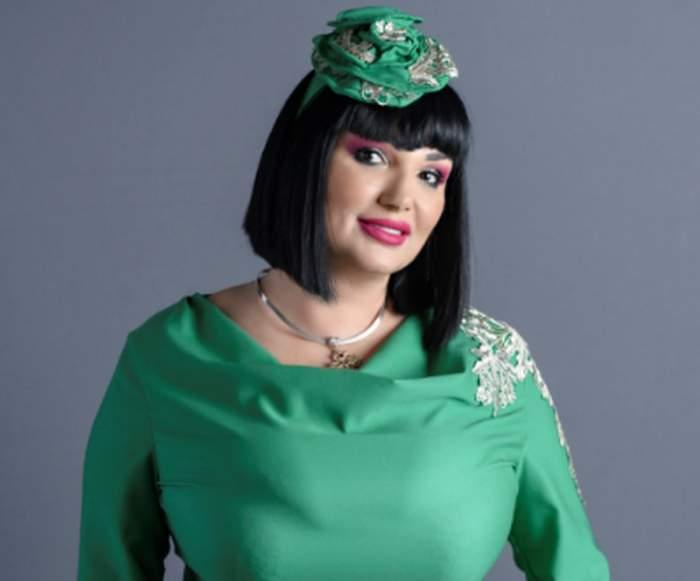 ozaba barabancea in rochie verde