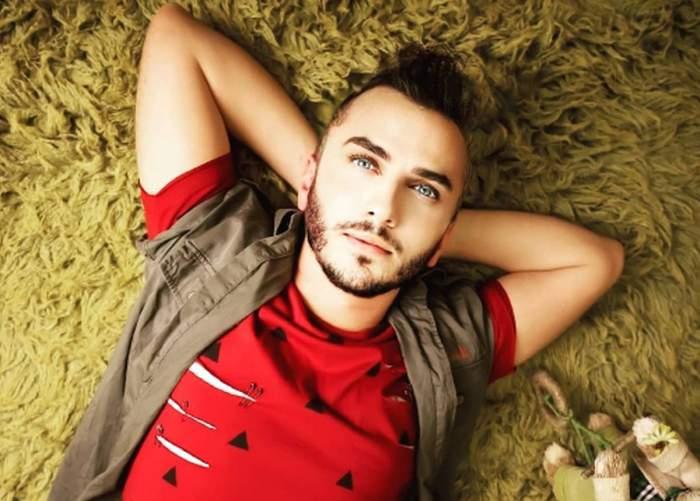 Mihai Trăistariu in tricou rosu