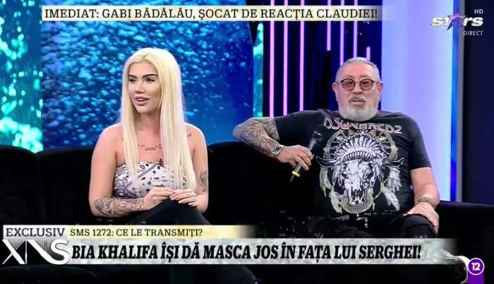 """Cum își câștigă banii Bia Khalifa de la iUmor! Dezvăluirile blondei la Xtra Night Show: """"Am o strategie de marketing foarte bună"""" / VIDEO"""