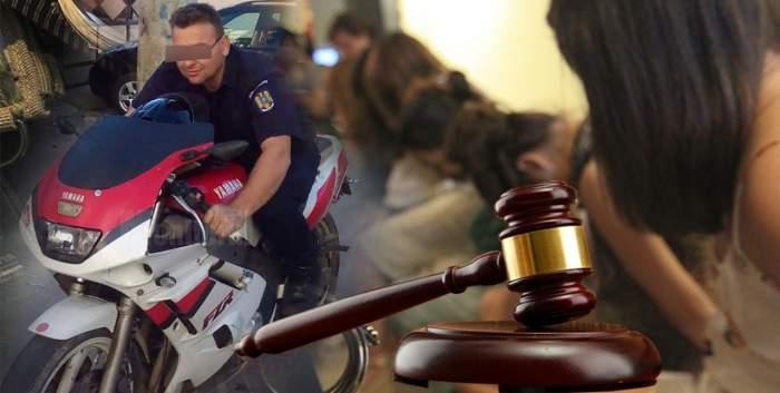 """Jandarmul acuzat de trafic de minore, """"cadou"""" inedit pentru foștii șefi / Le-a dat întâlnire la tribunal"""