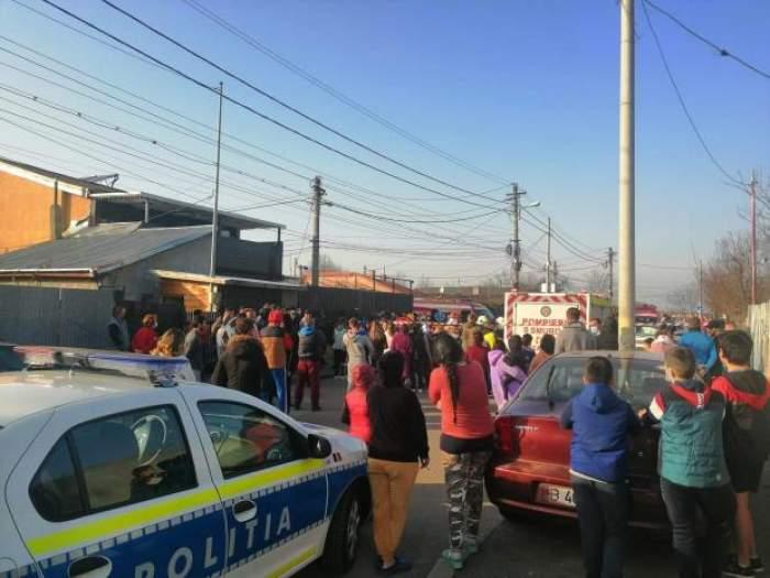 Șoferița criminală din Andronache, luată la bătaie cu lopata de martorii furioși! Și soțul femeii a fost atacat