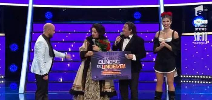 Adriana Trandafir și Romică Țociu au câștigat a patra ediție a show-ului Te cunosc de undeva. Cei doi i-au interpretat pe Maria Tănase și Fărămiță Lambru