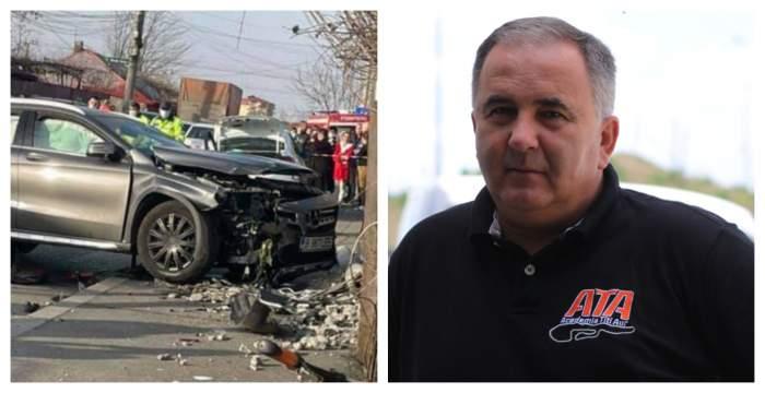 """Cine este, de fapt, vinovat pentru accidentul din Andronache! Fostul pilot de curse, Titi Aur: """"Șoferița are cea mai mică parte de vină"""""""