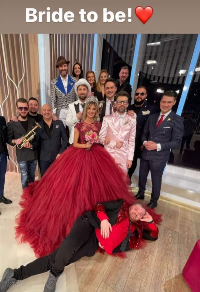 Invitații de la Nunta Ramonei Olaru cu Florin Ristei