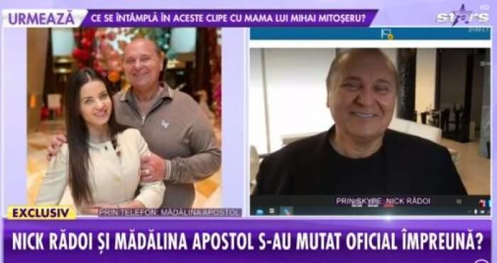 Colaj foto cu Nick Rădoi și Mădălina Apostol la Antena Stars