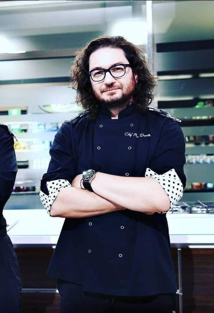Chef Florin Dumitrescu în bucătărie