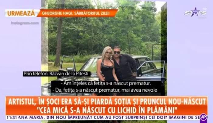 Captora foto cu Răzvan de la Piteși și soția sa